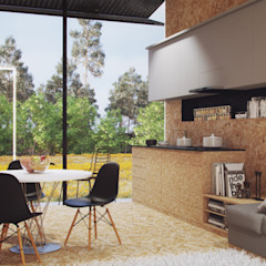 Dapur Minimalis Oleh ASVS Arquitectos Associados Minimalis