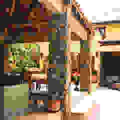 Casa Rokx, Willemstad Curaçao Tropische balkons, veranda's en terrassen van architectenbureau Aerlant Cloin BNA Tropisch