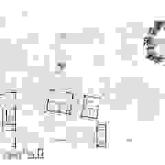 Casa Rokx, Willemstad Curaçao Tropische muren & vloeren van architectenbureau Aerlant Cloin BNA Tropisch