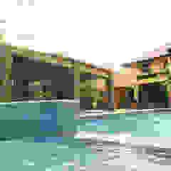 Casa Rokx, Willemstad Curaçao Tropische zwembaden van architectenbureau Aerlant Cloin BNA Tropisch