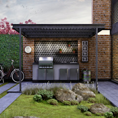 Eclectic style houses by Estudio Meraki Eclectic