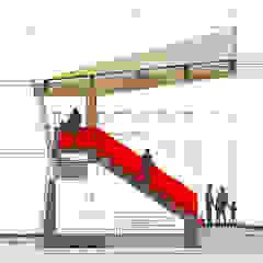 من Studio Tecnico Resta e Associati حداثي الخشب هندسيا Transparent