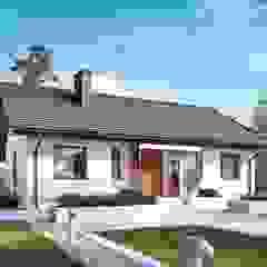 PROJEKT DOMU KORNEL VI (z wiatą) ENERGO Nowoczesne domy od Pracownia Projektowa ARCHIPELAG Nowoczesny
