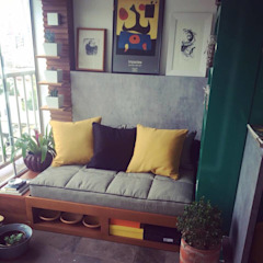 Ana Levy | Arquitetura + Interiores Balcones y terrazas de estilo moderno