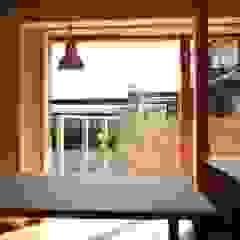 株式会社タマゴグミ Living room Wood Wood effect