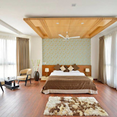 Spaces Architects@ka Modern Bedroom