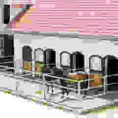 Mediterranean style garage/shed by WUNSCHHAUS Mediterranean