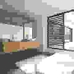 Villa JSPE Minimalistische badkamers van 2architecten Minimalistisch