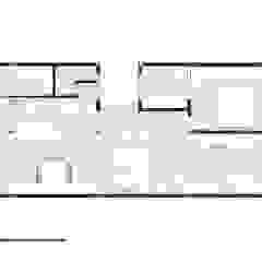 Apto. João Paredes e pisos minimalistas por RSRG Arquitetos Minimalista