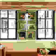 Home Office | SUSTENTABILIZANDO EL DEBER Y EL PLACER Puertas y ventanas industriales de G7 Grupo Creativo Industrial Madera Acabado en madera