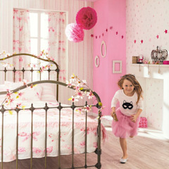 1/4 de Sonho Nursery/kid's roomAccessories & decoration Paper Pink
