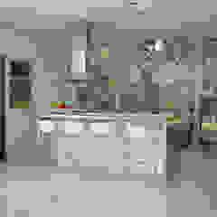 現代廚房設計點子、靈感&圖片 根據 MENEGHETTI ARQUITECTOS 現代風