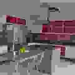 Libório Gândara Ateliê de Arquitetura Modern Kitchen