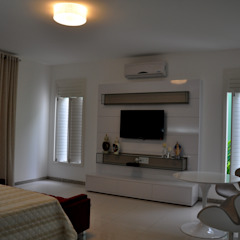 Modern style bedroom by Libório Gândara Ateliê de Arquitetura Modern