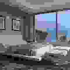Villa Hemera Miralbo Excellence Modern style bedroom