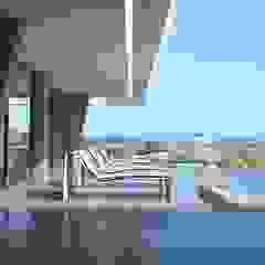 Balcones y terrazas modernos de Miralbó Excellence Moderno