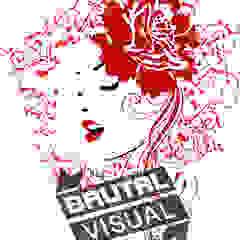 Mulher de vermelho por BrutalVisual Moderno