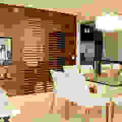 Apartamento Vila Clementino Salas de jantar mediterrâneas por Sandro Kawamura Designer de Interiores Mediterrâneo