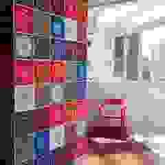Cobertura Duplex Santana 290m² Paredes e pisos minimalistas por Fabiana Rosello Arquitetura e Interiores Minimalista