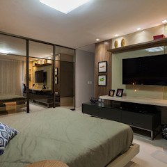 Eclectic style bedroom by Casa2640 Eclectic