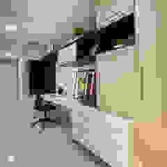 Oficinas y bibliotecas de estilo ecléctico de Casa2640 Ecléctico