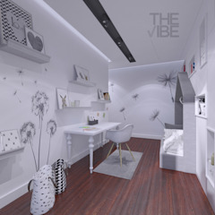 The Vibe Modern nursery/kids room Grey