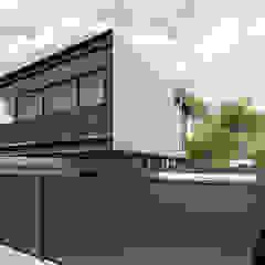 Modern Houses by Commune Arquitetura Modern Wood Wood effect