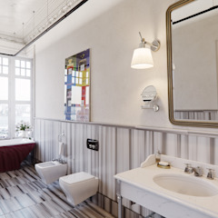 Eclectic style bathroom by MARION STUDIO Eclectic
