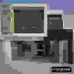 โดย Modulor Arquitectura โมเดิร์น หินชนวน