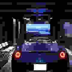 Mediterranean style garage/shed by SANKAIDO | 株式会社 参會堂 Mediterranean