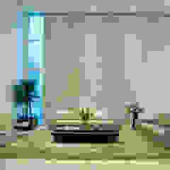 Casa Araguaia OM Salas de estar modernas por dayala+rafael arquitetura Moderno Pedra