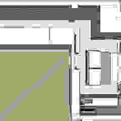 Cobertura Barra Bonita Corredores, halls e escadas asiáticos por Duplex Interiores Asiático
