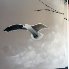 de Wandgestaltung Graffiti Airbrush von Appolloart Ecléctico