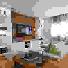 Ruang Keluarga Modern Oleh MeyerCortez arquitetura & design Modern