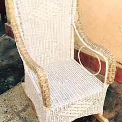 classic  by Marian de las Camelias, Classic Rattan/Wicker Turquoise