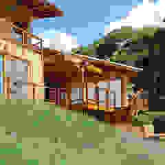 RESIDENCIA CAMPO 1 Casas modernas por Martins Valente Arquitetura e Interiores Moderno