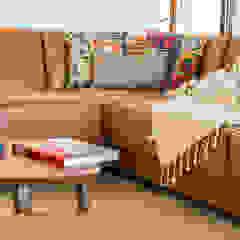 Casa Pollensa DB Salones de estilo moderno de ISLABAU constructora Moderno