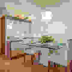 Comedores de estilo moderno de Eveline Maciel - Arquitetura e Interiores Moderno