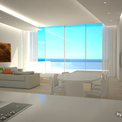 Lis Melgarejo Arquitectura Mediterranean style living room