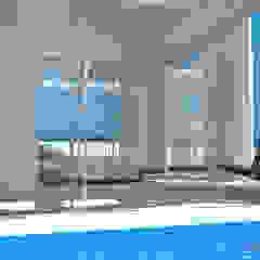 Lis Melgarejo Arquitectura Mediterranean style pool