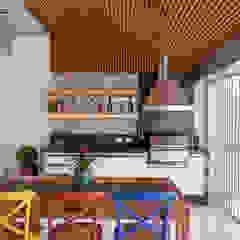 Espaço Gourmet Cozinhas ecléticas por Moran e Anders Arquitetura Eclético