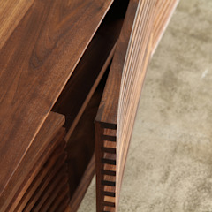 거실장 / curve sideboard: JEONG JAE WON Furniture 정재원 가구의 현대 ,모던