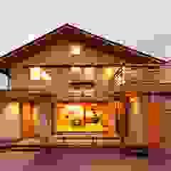 Casas de estilo asiático de AMI ENVIRONMENT DESIGN/アミ環境デザイン Asiático