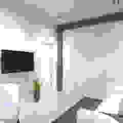 Студия авторского дизайна ASHE Home Ruang Studi/Kantor Gaya Eklektik