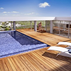 Modern pool by Mauricio Morra Arquitectos Modern