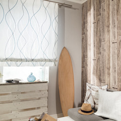 Indes Fuggerhaus Textil GmbH Windows & doors Curtains & drapes Textile Blue