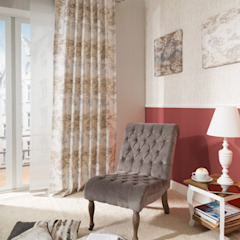 Indes Fuggerhaus Textil GmbH Windows & doors Curtains & drapes Textile Beige