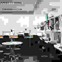 5D Proyectos Modern media room
