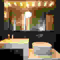 STUDIO DI ARCHITETTURA RAFFIN Modern Bathroom Black
