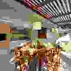Balcones y terrazas rústicos de Stefani Arquitetura Rústico